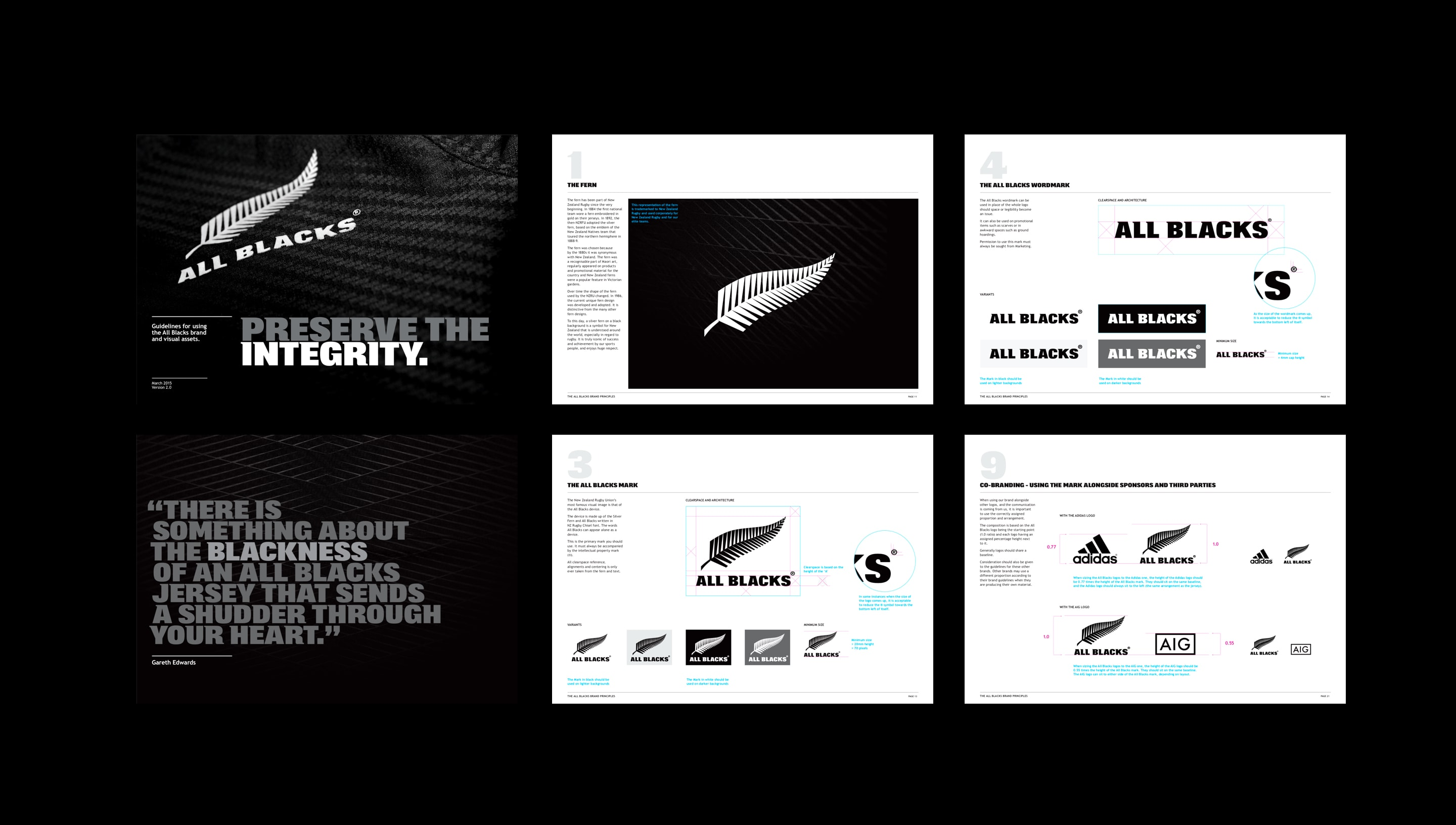 All Blacks Guidelines