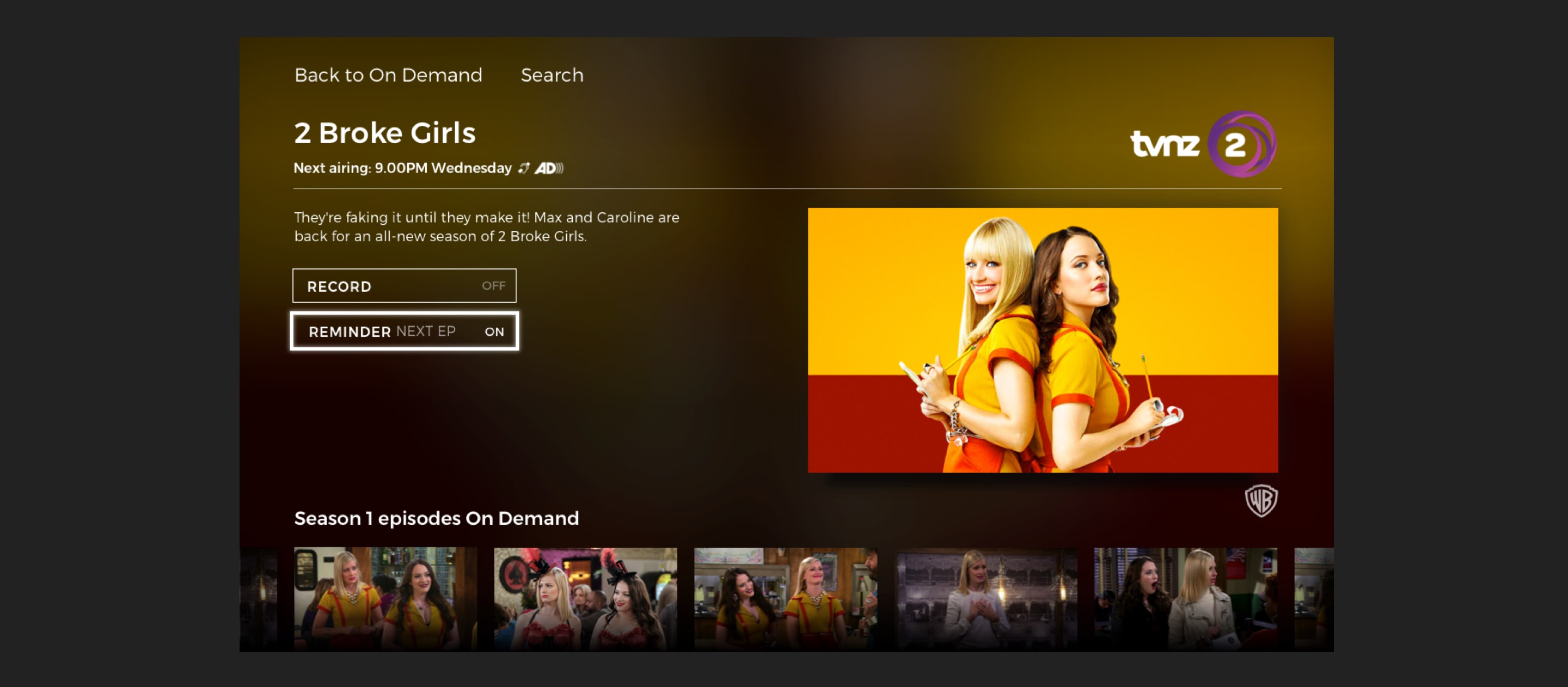 Freeview Broke Girls